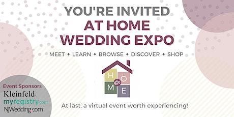 At Home Wedding Expo - NY Metropolitan Area tickets