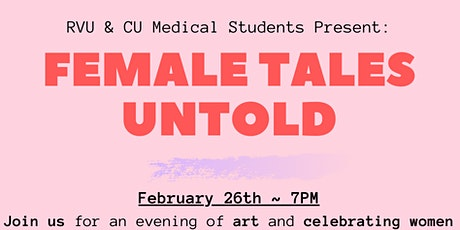 Female Stories Untold: An Evening of Art and Celebrating Women tickets