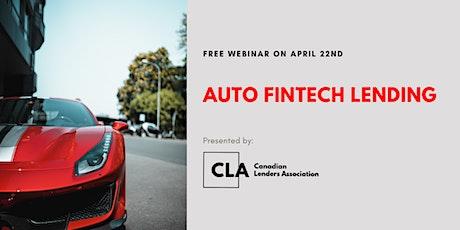 Auto Fintech Lending tickets