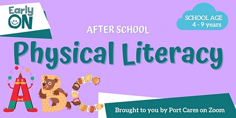 After School Physical Literacy: Musical Letters tickets