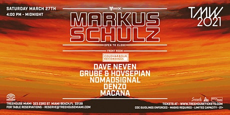 TMW - Markus Schulz + Coldharbour Night @ Treehouse Miami tickets