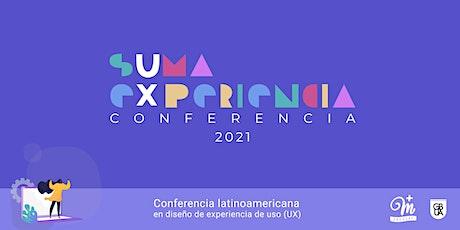 sUma eXperiencia Conferencia UX entradas