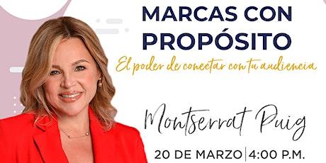 Conferencia de Montserrat Puig en Emprende SDQ entradas