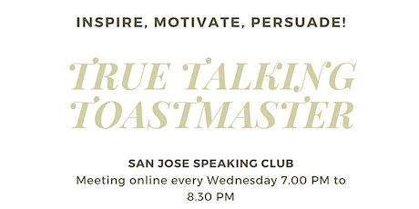 True Talking Toastmasters Storytelling Workshop tickets