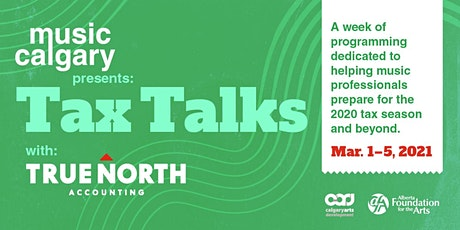 Tax Tips and Talks with True North Accounting tickets