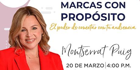 Conferencia (online) Montserrat Puig en Emprende SDQ entradas