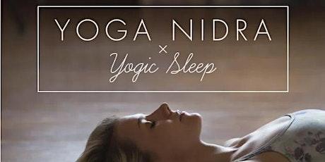 Yoga Nidra Meditation - Relax, Release, Let Go & Take Rest tickets