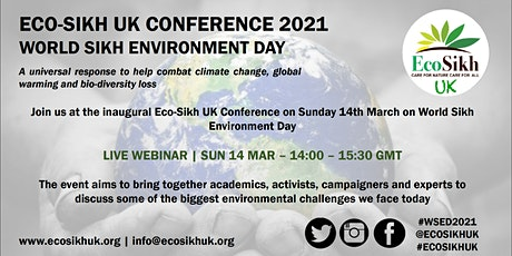 WORLD SIKH ENVIRONMENT DAY CONFERENCE 2021 tickets