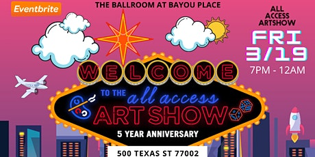 All Access Art Show: 5 Year Anniversary Event tickets