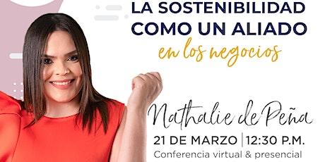 Conferencia de Nathalie de Peña en Emprende SDQ entradas