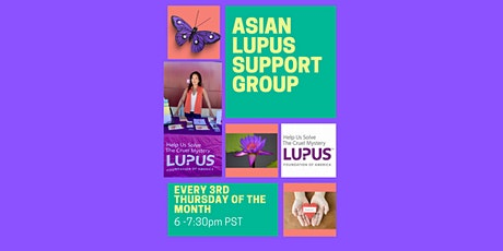 Lupus Foundation of America - Asian Community Support Group tickets