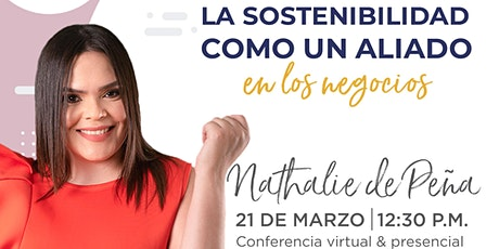 Conferencia (online) de Nathalie de Peña en Emprende SDQ entradas