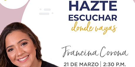 Conferencia (online) de Francina Corona en Emprende SDQ entradas