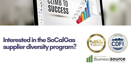 Southern Cal. Gas Supplier Diversity Program tickets