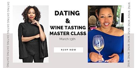 A Dating & Wine Tasting Masterclass tickets