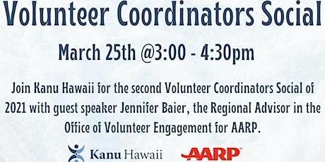 Volunteer Coordainators Social tickets