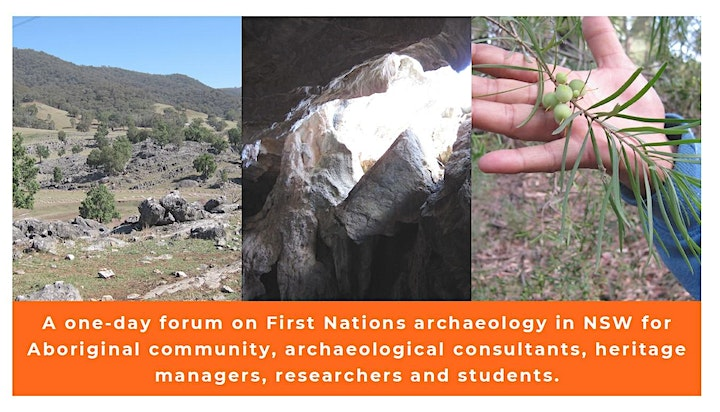 NSW Aboriginal Archaeology Future Forum 2021 image