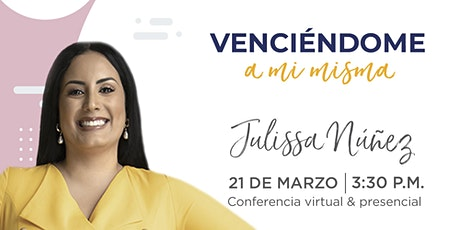 Conferencia de Julissa Núnez en Emprende SDQ entradas