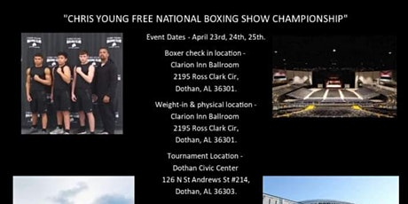 Chris Young  Free National Boxing Show Championship tickets
