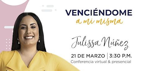 Conferencia (online) de Julissa Núñez entradas