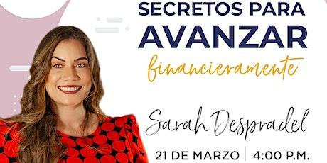 Conferencia de Sarah Despradel en Emprende SDQ entradas