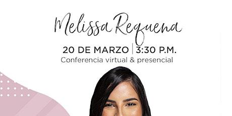 Conferencia (online) de Melissa Requena en Emprende SDQ tickets