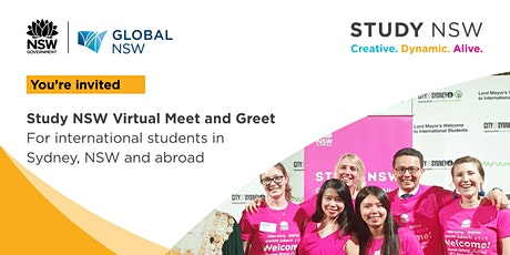 Study NSW Virtual Meet and Greet tickets