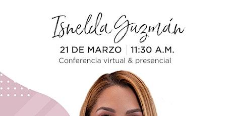 Conferencia (online) de Isnelda Guzmán en Emprende SDQ entradas