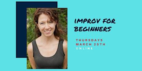 Improv for Beginners :: Kristin Henn :: Thursdays 1PM-3PM tickets