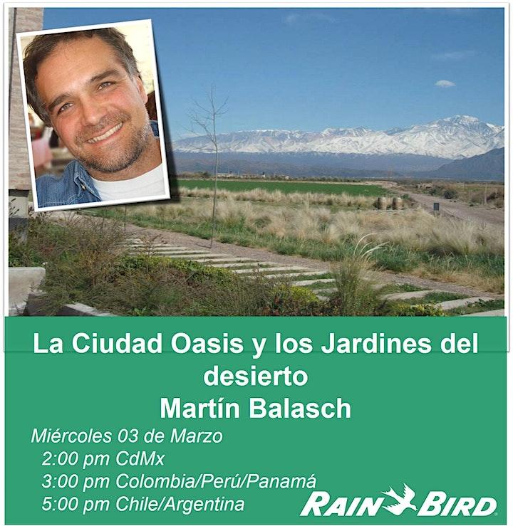 Imagen de Charlas RB: La Ciudad Oasis y los Jardines del desierto.  Martin Balasch