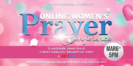 Online Women's Prayer Conference tickets