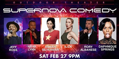 SARAH SILVERMAN ILIZA JEFF ROSS RORY ALBANESE LIVE OUTDOOR COMEDY SHOW tickets