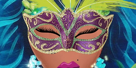 Carnival Sip & Paint (In-Studio or Virtually) tickets