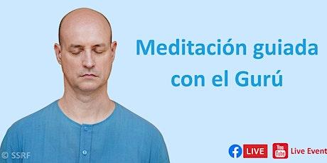 Meditación guiada con el Gurú entradas