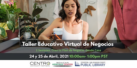 Taller Educativo Virtual de Negocios entradas