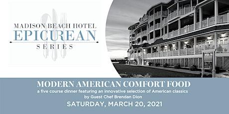 Epicurean Series | Modern American Comfort Food, Guest Chef Brendan Dion tickets