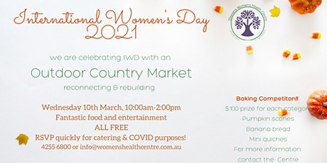 International Women's Day Outdoor Country Market: Reconnect and Rebuild tickets