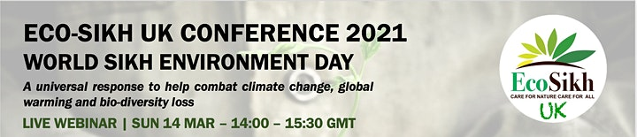 WORLD SIKH ENVIRONMENT DAY CONFERENCE 2021 image
