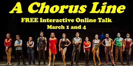 """A Chorus Line"" FREE Interactive Talk by David Benkof, the Broadway Maven tickets"