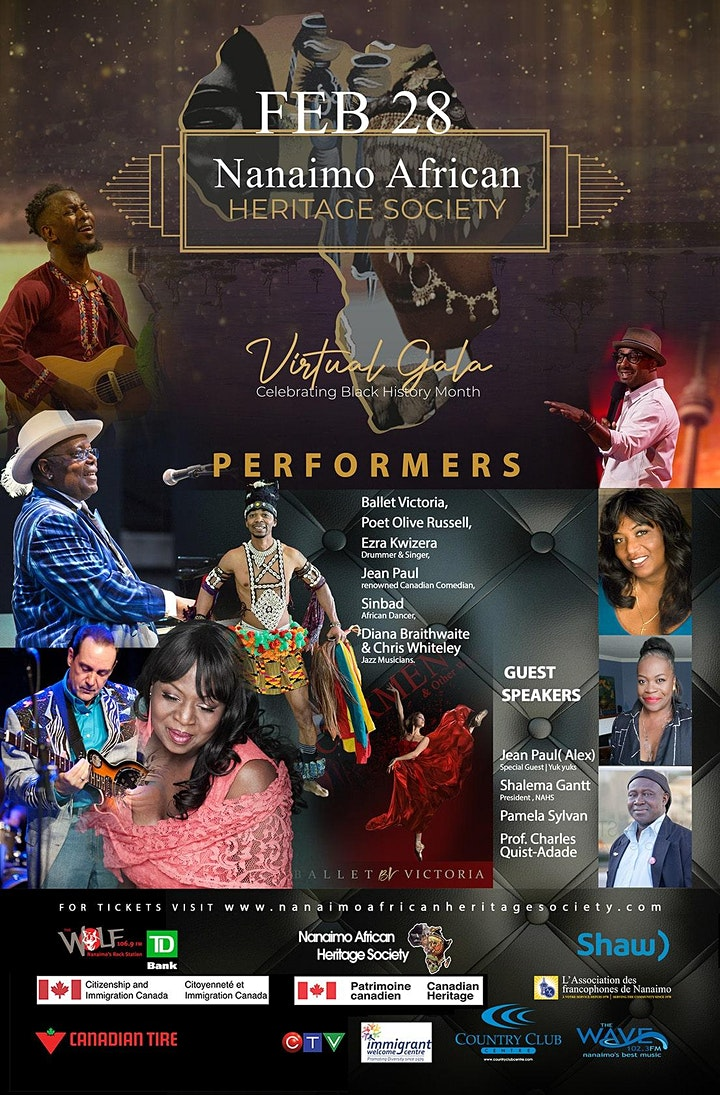 21st Annual Gala - Virtual Show, Celebrating Black History Month image