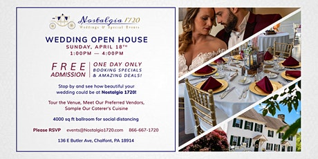 Wedding Open House tickets