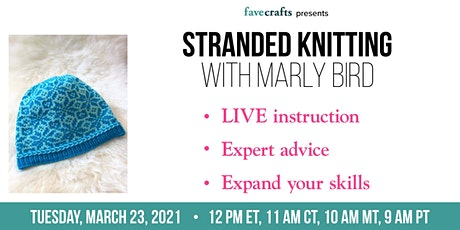 Stranded Knitting with Marly Bird tickets