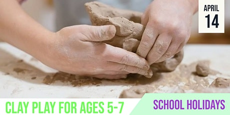 SCHOOL HOLIDAYS | Clay Play | Mitchell Park tickets
