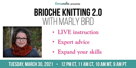 Brioche Knitting 2.0 tickets