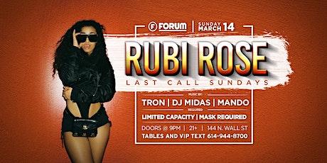 LAST CALL SUNDAY Feat. RUBI ROSE tickets