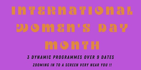 FLY! ONLINE FESTIVAL OF BLACK WOMEN'S FILM IN RECOGNITION OF  IWD MONTH tickets