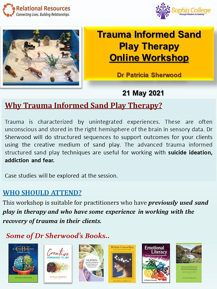 Trauma-Informed Sand Play Therapy Online Workshop image