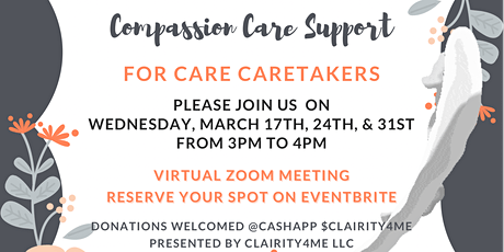 Compassion Care Support Group for Care Takers tickets