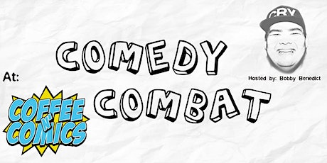 COMEDY COMBAT at Coffee n' Comics tickets