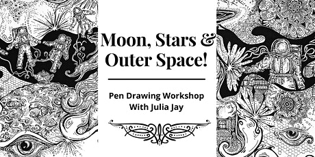 Space Theme Pen Drawing Workshop tickets